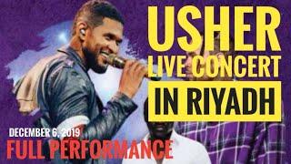 Usher full performance live concert in riyadh