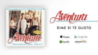 Aventura - Dime Si Te Gusto (Official Audio)