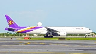 """Touched by Thai"" Thai Airways International การบินไทย สัมผัสจากใจ by iFLYairplane"