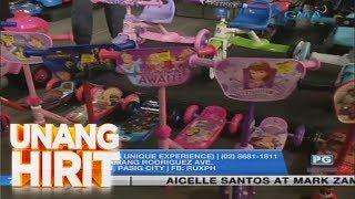 Unang Hirit: Toy Sale sa Pasig!