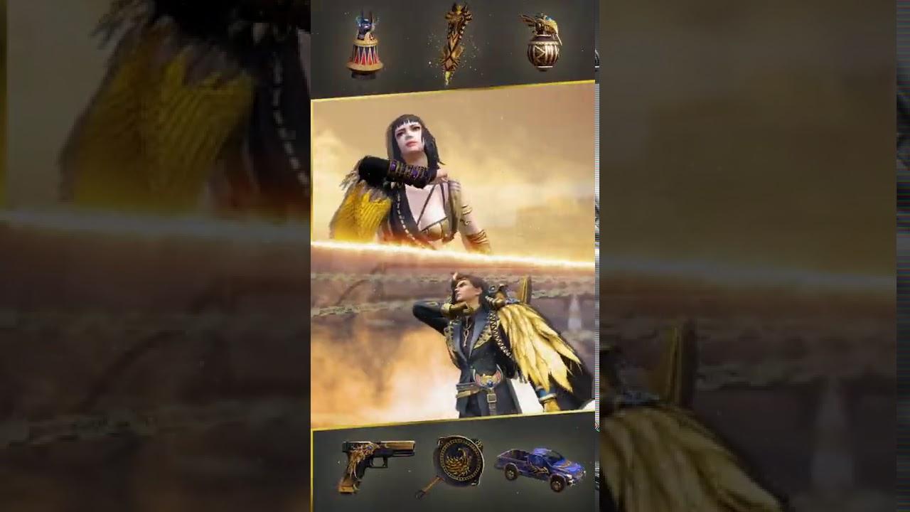 Elite Pass: Anubis Legends II Rewards | Shorts | Garena Free Fire