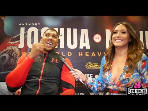JOSHUA: DAVID HAYE 'IS TALKING FROM AN EMOTIONAL PLACE', DISCUSSES KLITSCHKO FIGHT ON APRIL 29