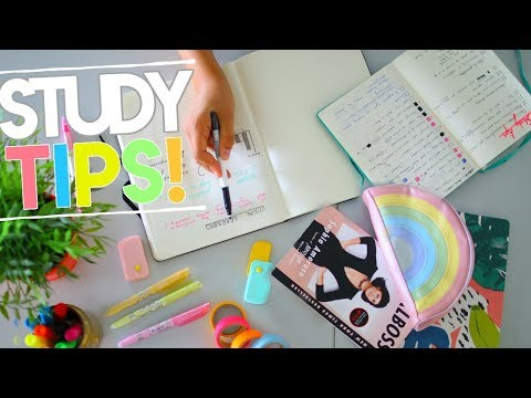 Back to School: The BEST TESTED Study Tips for High Schoolers! + Organization Tips & Hacks 2018
