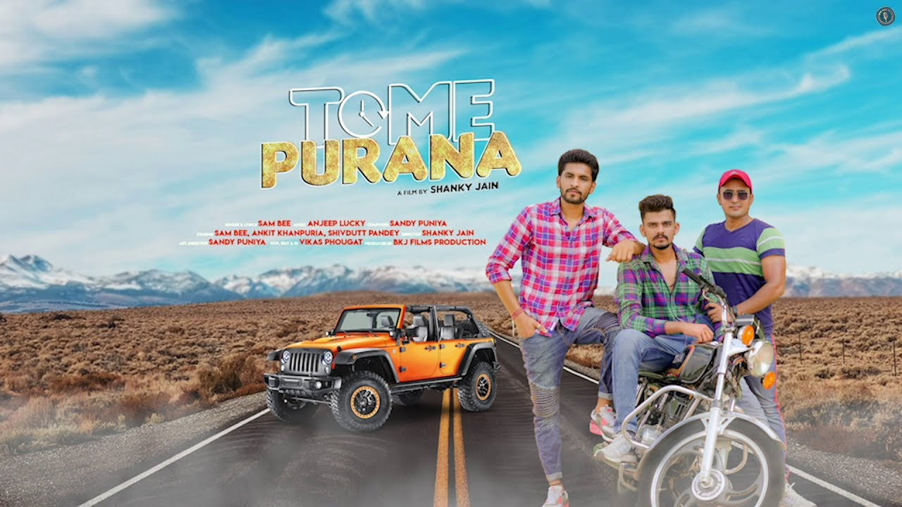 Time Purana (Motion Poster) | Sam Bee, Ankit Khanpuria, Shivdutt Pandey | Upcoming Song on RMF