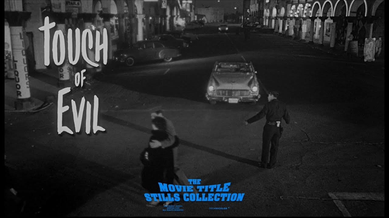 Download Touch of Evil (1958) title sequence