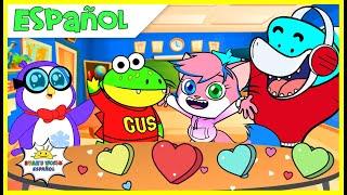 Búsqueda del tesoro del día de San Valentín en la escuela  Animación educativa para niños