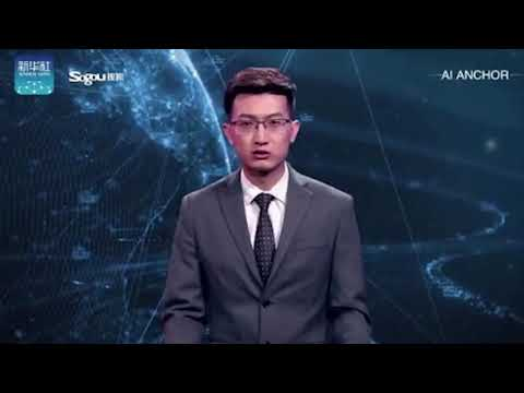 World's first AI presenter unveiled in China - END OF THE WORLD