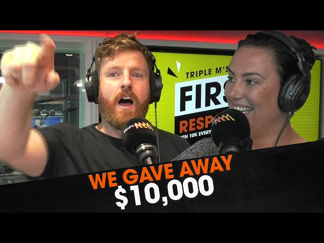 WE GAVE AWAY $10,000! | The Big Breakfast