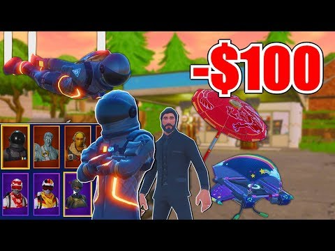 BUYING AND UNLOCKING EVERY NEW ITEM!! - SEASON 3 TIER 100 (FORTNITE NEW SEASON)