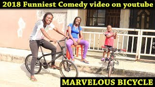 MARVELOUS BICYCLE (2018 Funniest Comedy on Youtube) (Mark Angel Comedy) (Family The Honest Comedy)