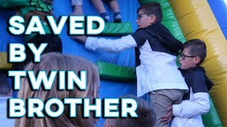 SAVED BY TWIN BROTHER | TWIN BROTHER TO THE RESCUE | A BROTHER'S LOVE