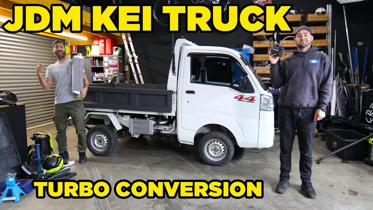 JDM Kei Truck Turbo Conversion