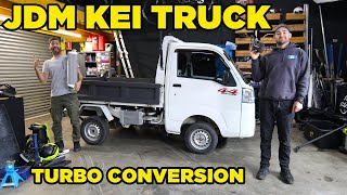 homepage tile video photo for JDM Kei Truck Turbo Conversion