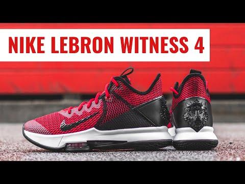 Nike LeBron Witness 4   Basketball Shoe Review