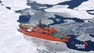Antarctic ship rescue thwarted again