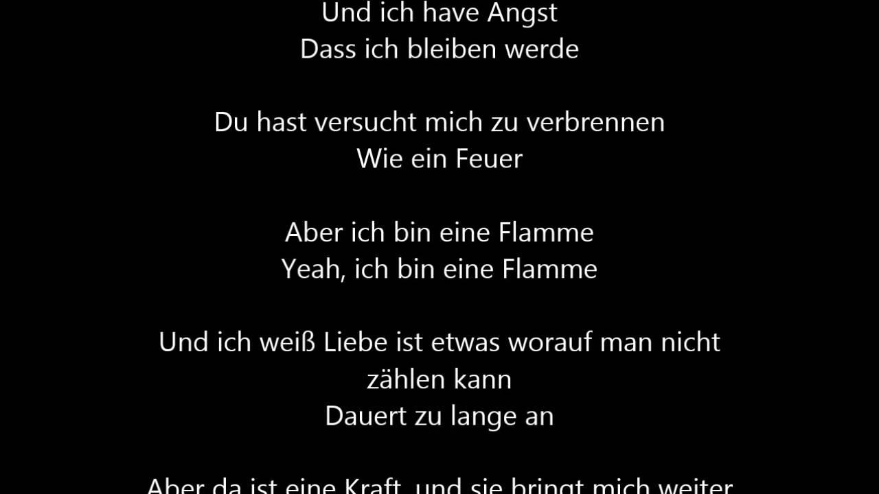 Stefanie Heinzmann In The End Deutsche übersetzung German
