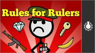 The Rules for Rulers(Che Greyvara T-Shirt: https://goo.gl/N23bFx Grey discusses the video: https://youtu.be/ILvD7zVN2jo Brought to you in part by: http://www.audible.com/grey ..., 2016-10-24T15:15:59.000Z)