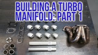RWD Turbo CRX Build: Episode 4 - Building a Turbo Manifold: Part 1 (Material Selection and Prep)