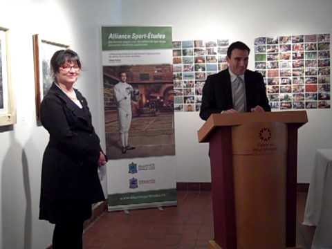 Adhésion du Cégep du Vieux Montréal à l'Alliance Sport-Études - Conférence de presse