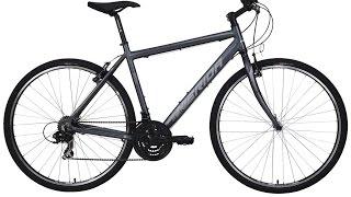 MERIDA Crossway Redwood Gent NO 15, Hybrid Bicycles, with SKS Velo 47 Trekking Mudguard Set