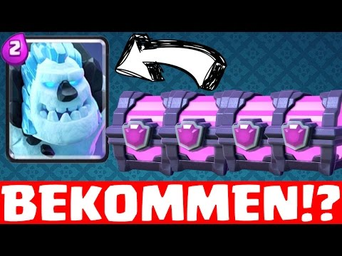 EISGOLEM BEKOMMEN?! || CLASH ROYALE || Let's Play CR [Deutsch/German HD+]