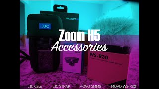 Must have Zoom H5 Accessories!! (2019)