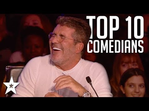 TOP 10 Funniest Comedians That Made SIMON COWELL Laugh on AG