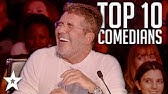 TOP 10 Funniest Comedians That Made SIMON COWELL Laugh on AGT & BGTGot Talent Global