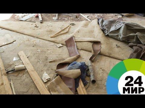 Взрыв газа разрушил частный дом в Дагестане - МИР 24