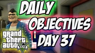 GTA 5 (Daily objectives) Day 37 Darts,Golf,and Death match