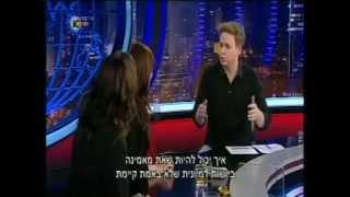 """סגנית שר החוץ ציפי חוטובלי מתארחת בתוכנית """"גב האומה"""""""