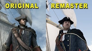 Assassin's Creed 3 Remaster vs Original (2012 vs 2019) Comparison