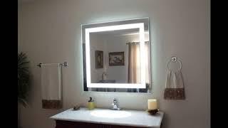 Необычные зеркала в ванную комнату