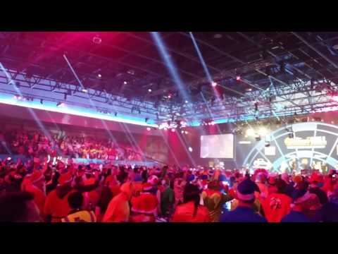 Adrian Lewis Darts walk on