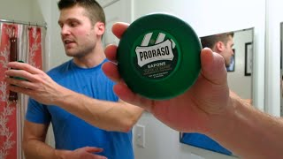 Proraso Shaving Soap!