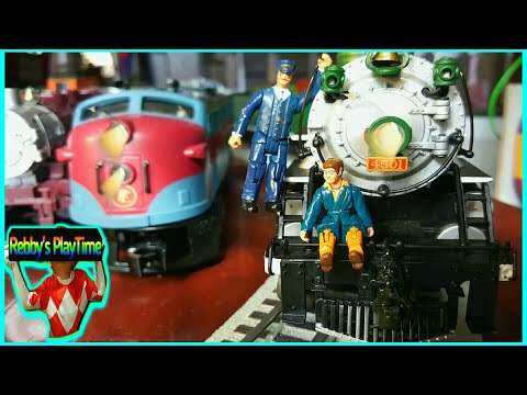 Cool Fun Toy Train Videos For Kids. Lots of Steam, Diesel, Electric Toy Trains For Children.