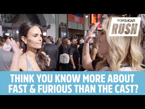 Furious 7 Stars Take The Fast and Furious Pop Quiz!