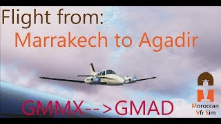 African Yankee VFR Flight from GMMX to GMAD