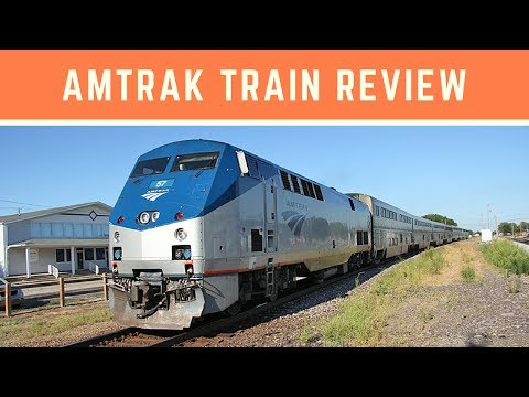 My First AMTRAK TRAIN Trip REVIEW