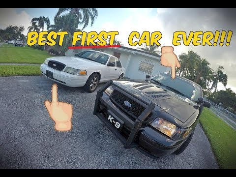 Here's Why The Ford Crown Victoria P71 Is The BEST First Car EVER!!