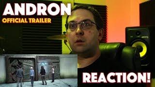 REACTION! Andron Official Trailer - Alec Baldwin Sci-Fi Movie
