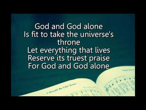 God and God Alone