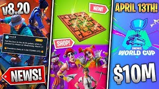 Poison Trap, Leaked Shop, Floor is Lava, Arena Mode + World Cup, Skin Removal! (Fortnite News)
