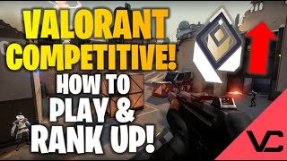 VALORANT RANKED DETAILS! | HOW TO PLAY AND RANK UP!| ALL RANKS CONFIRMED!