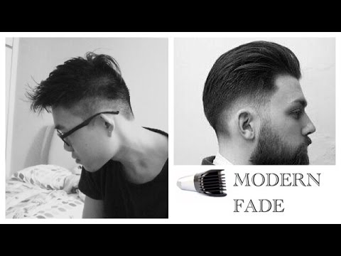 how to cut your own taper fade