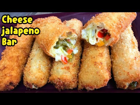 Cheese And Jalapeño Rolls / First Ever On Youtube By Yasmin's