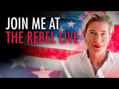 Katie Hopkins: Meet me at The Rebel Live: June 2, Toronto