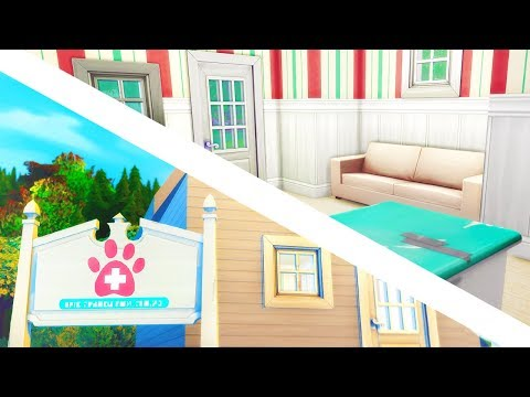 VET CLINIC REMODELING // The Sims 4: Cats & Dogs #6
