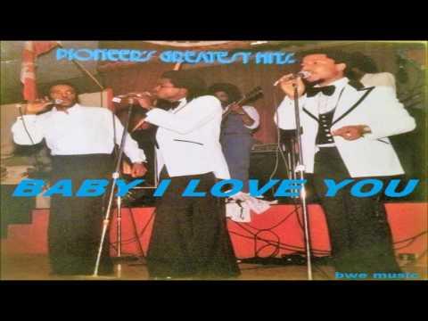 The Pioneers - BABY I LOVE YOU (REGGAE MUSIC - JAMAICA)