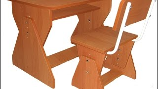 How to make children's table of chipboard